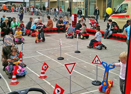 Kinderveranstaltungen Berlin Verkehrs-Kindergarten
