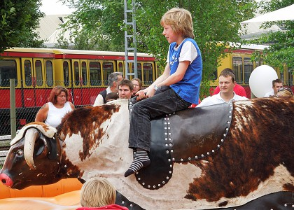 Kinderveranstaltungen Berlin Bull-Riding