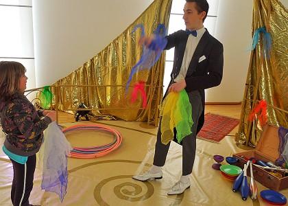 Kinderveranstaltungen Berlin Mitmach-Zirkus