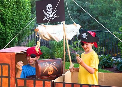 Kinderveranstaltungen Berlin Indianerparty Piratenparty
