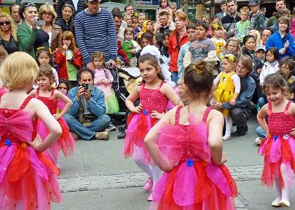 Kinderveranstaltungen Berlin Tanz - Shows und Animation