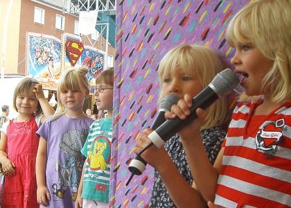Kinderveranstaltungen Berlin Kinder-Karaoke
