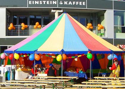 Kinderveranstaltungen Berlin Zelte
